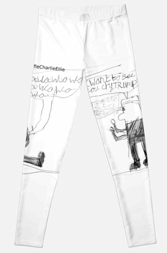 578x875 Cry Trump Leggings