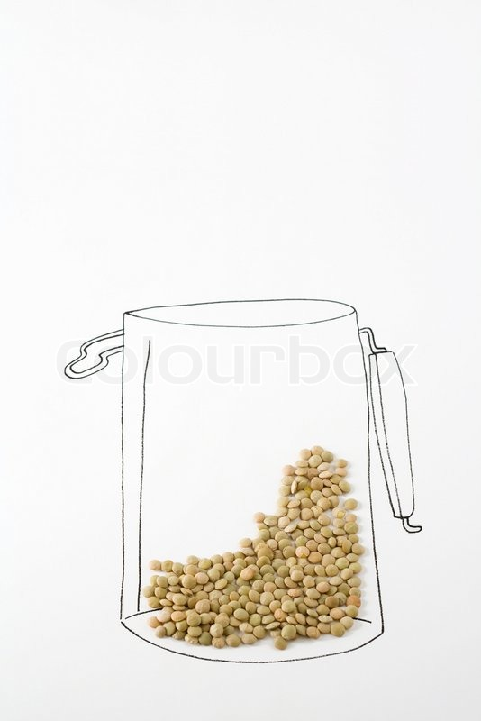 534x800 Laurence Moutonaltopressmaxppp Lentils On Drawing Of Canister