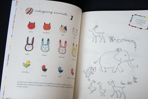 500x334 Book Review Illustration School Let's Draw Magical Color Parka