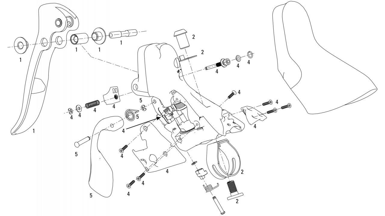 1280x720 Sram Red Brake Shift Lever Spare Parts (2008 2011)
