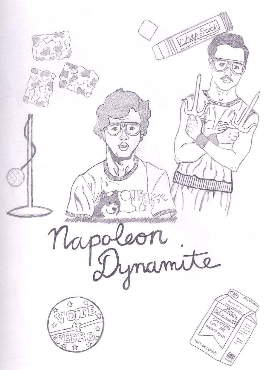 Liger Drawing Napoleon Dynamite
