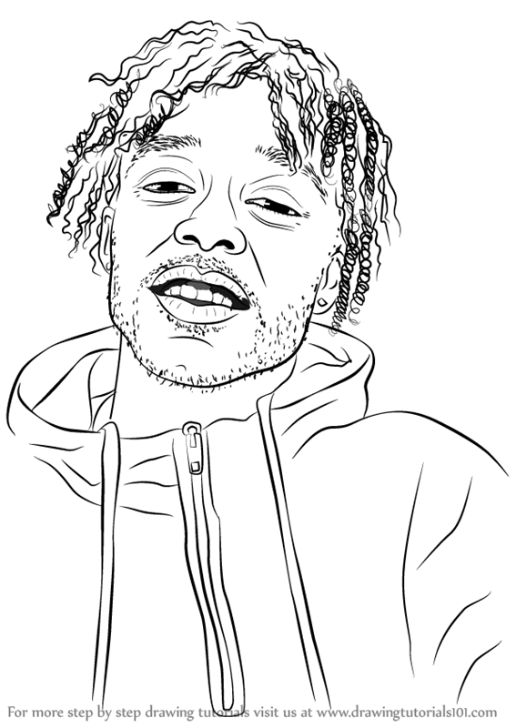 567x800 Collection Of Lil Uzi Vert Cartoon Drawing High Quality