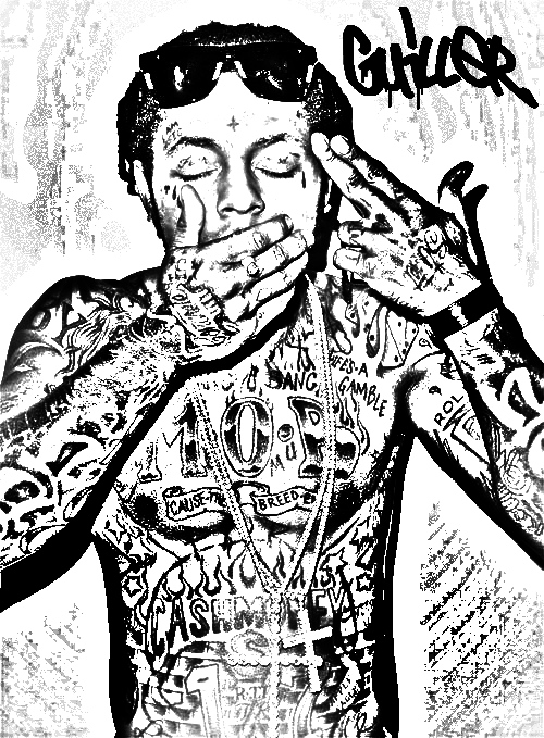 500x679 Lil Wayne Version 2 By Mafiaflow