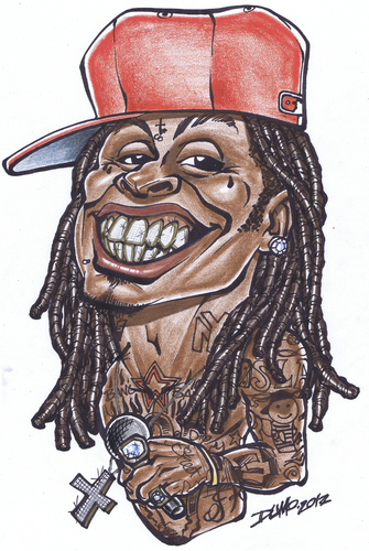 335x500 Lil Wayne By Dumo Famous People Cartoon Toonpool