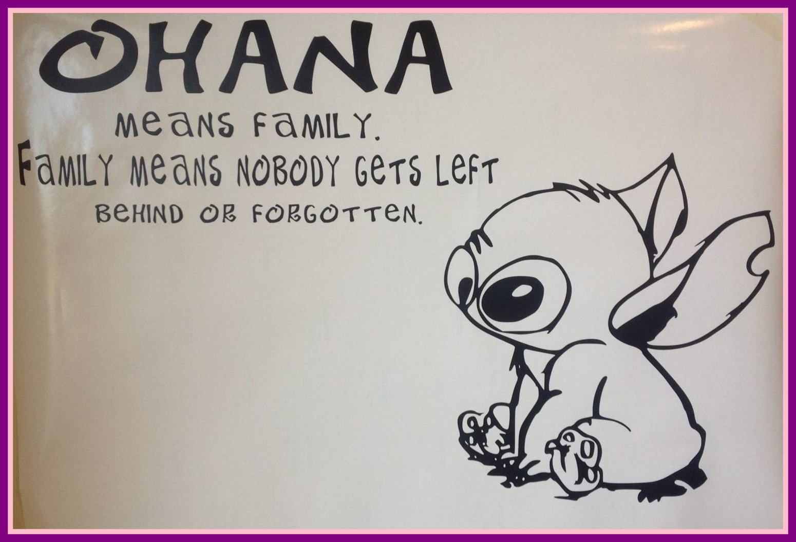 Lilo And Stitch Drawing Ohana at GetDrawings.com | Free for personal ...