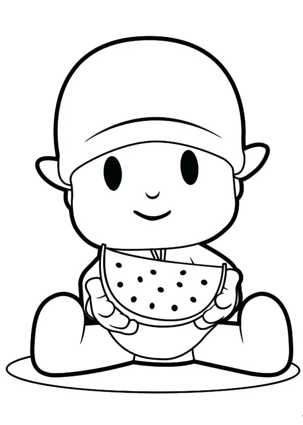 The best free Pocoyo drawing images. Download from 18 free drawings ...