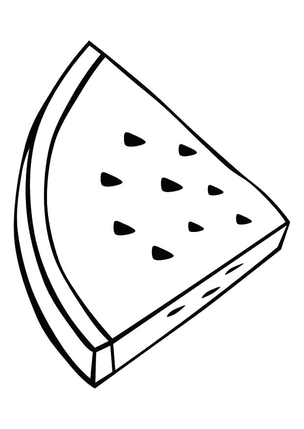 620x875 Watermelon Colouring Pages Cartoon Watermelon Food Coloring Pages