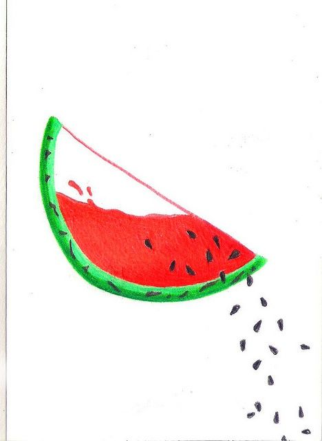 468x640 251 Best Watermelon Images On Watermelon, Water Colors