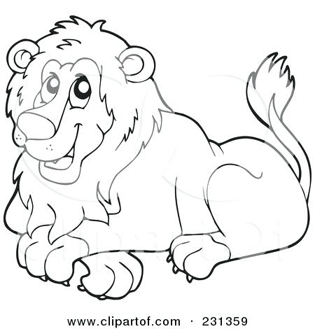 450x470 Royalty Free Illustration Of A Coloring Page Outline Free Coloring
