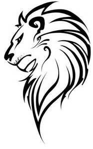 187x300 Beautiful Tribal Wolf Head With Stars Tattoo Design T Shirt