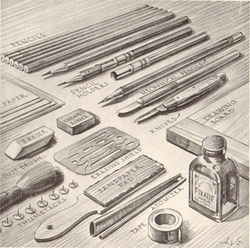 500x495 Pencil Drawing