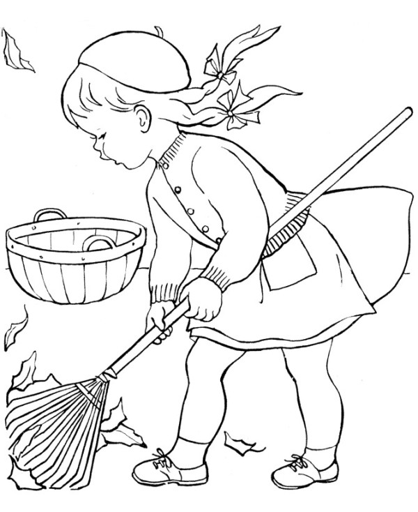 Little Girl Drawing Cartoon At Getdrawings Com Free For Personal