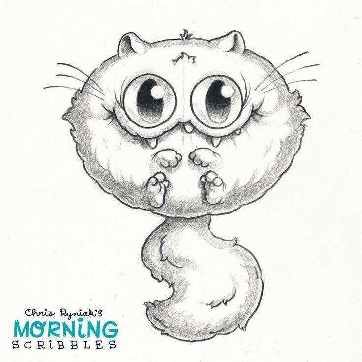 Little Monster Drawing