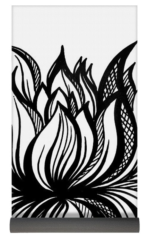 Lotus flower black and white drawing at getdrawings free for 500x794 lotus flower black white drawing yoga mat for sale by sofia metal mightylinksfo