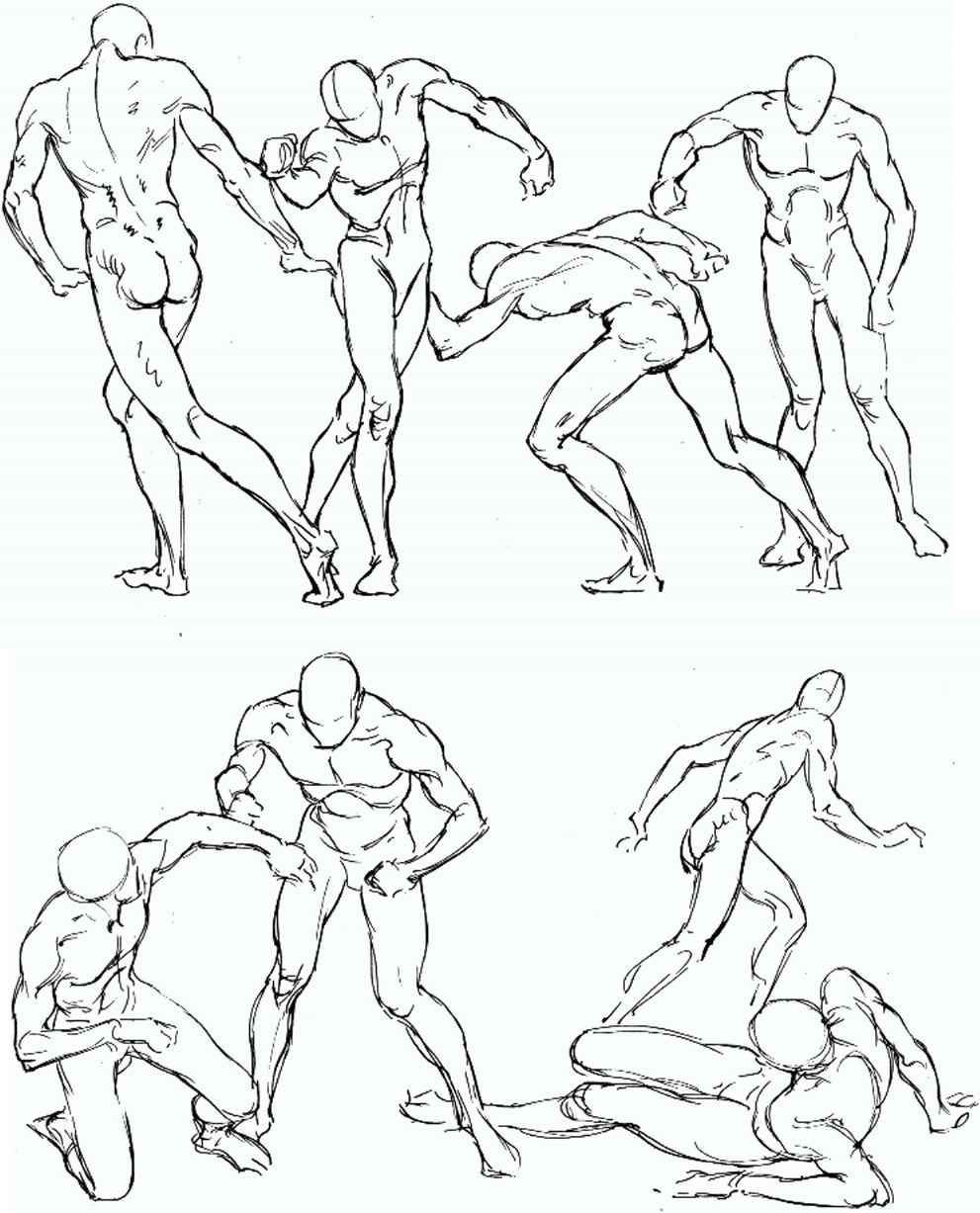 Male Figure Drawing Model Poses at GetDrawings | Free download
