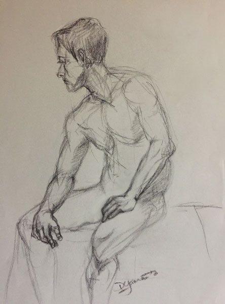 444x600 Collection Of Male Figure Drawing Poses Sitting High Quality