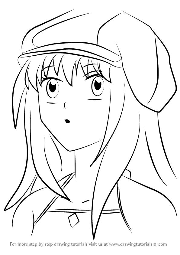 596x843 Learn How To Draw Ayu Tateishi From Ultra Maniac (Ultra Maniac