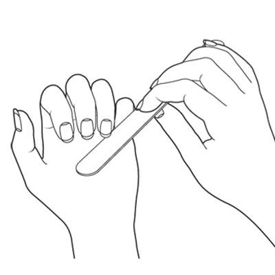 400x400 Basic Manicure