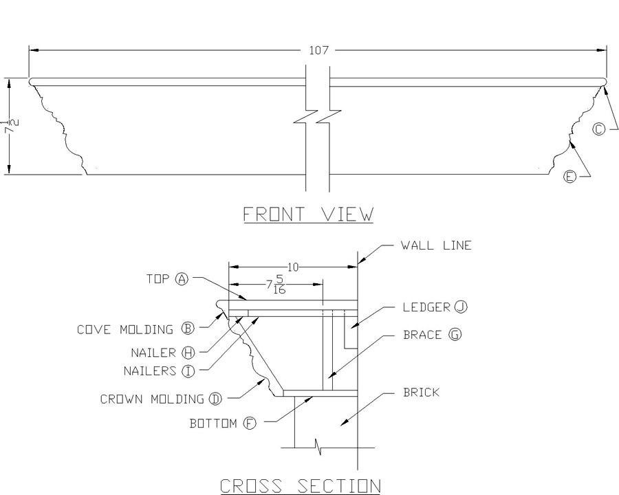 900x720 Pdf Plans Mantel Shelf Design Download Shelf Door Plans