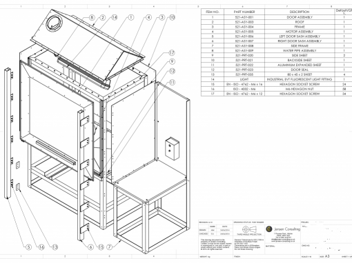 510x382 Manufacturing Drawing Service 2d Amp 3d Cad Cad Outsourcing Company