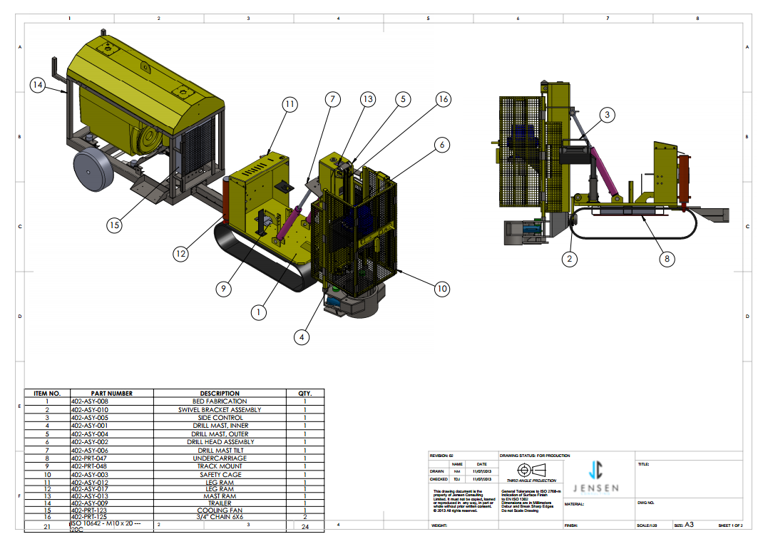 1077x763 Manufacturing Drawing Service 2d Amp 3d Cad Cad Outsourcing Company