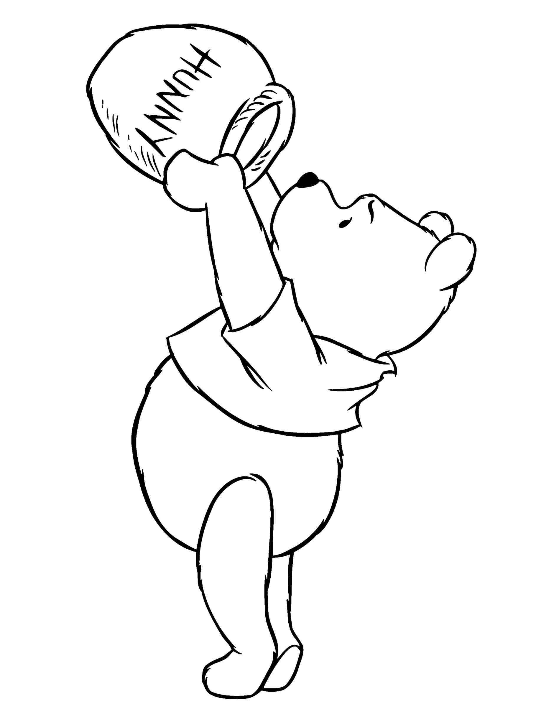 1896x2449 Simple Winnie The Pooh Drawings