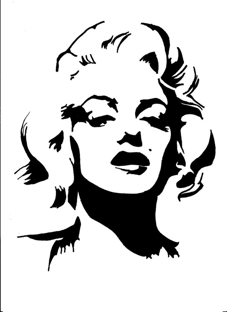 762x1048 Marilyn Monroe Black And White Drawing Monroe Art