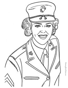 236x305 Military Coloring Pages