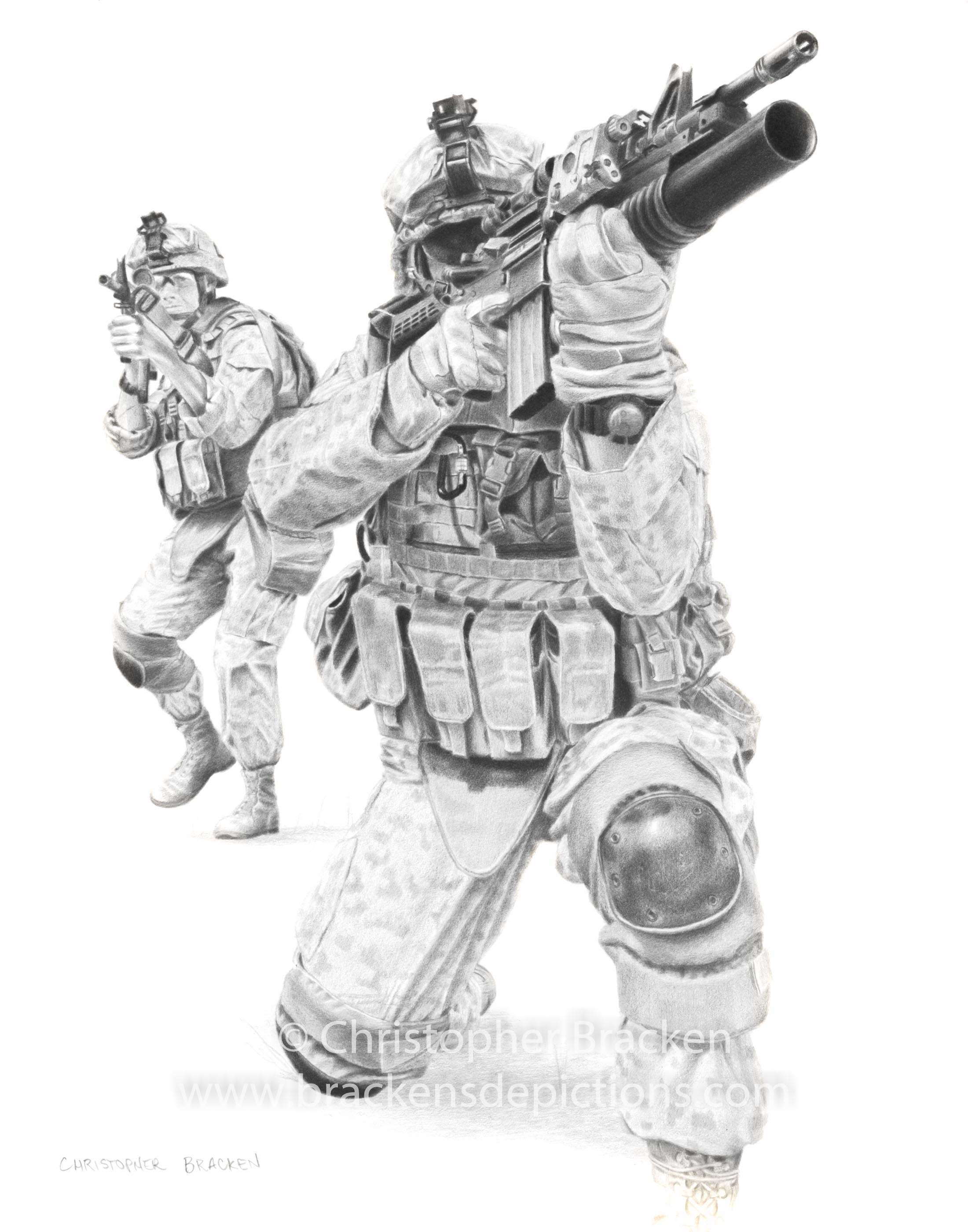 2200x2800 Collection Of Marine Soldier Drawing High Quality, Free