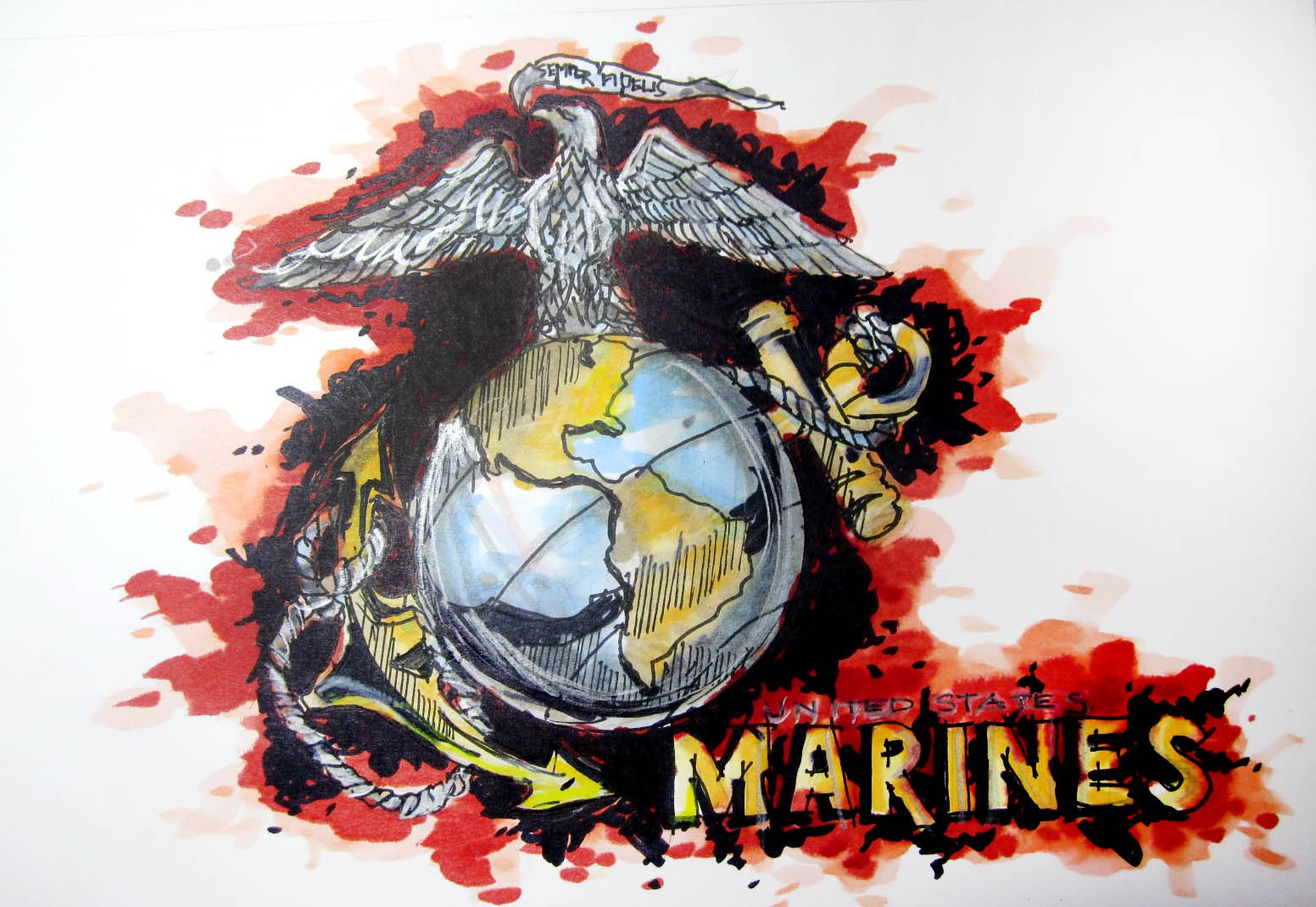 1552x1069 Military Series United States Marine Corps (Usmc) Time Lapse