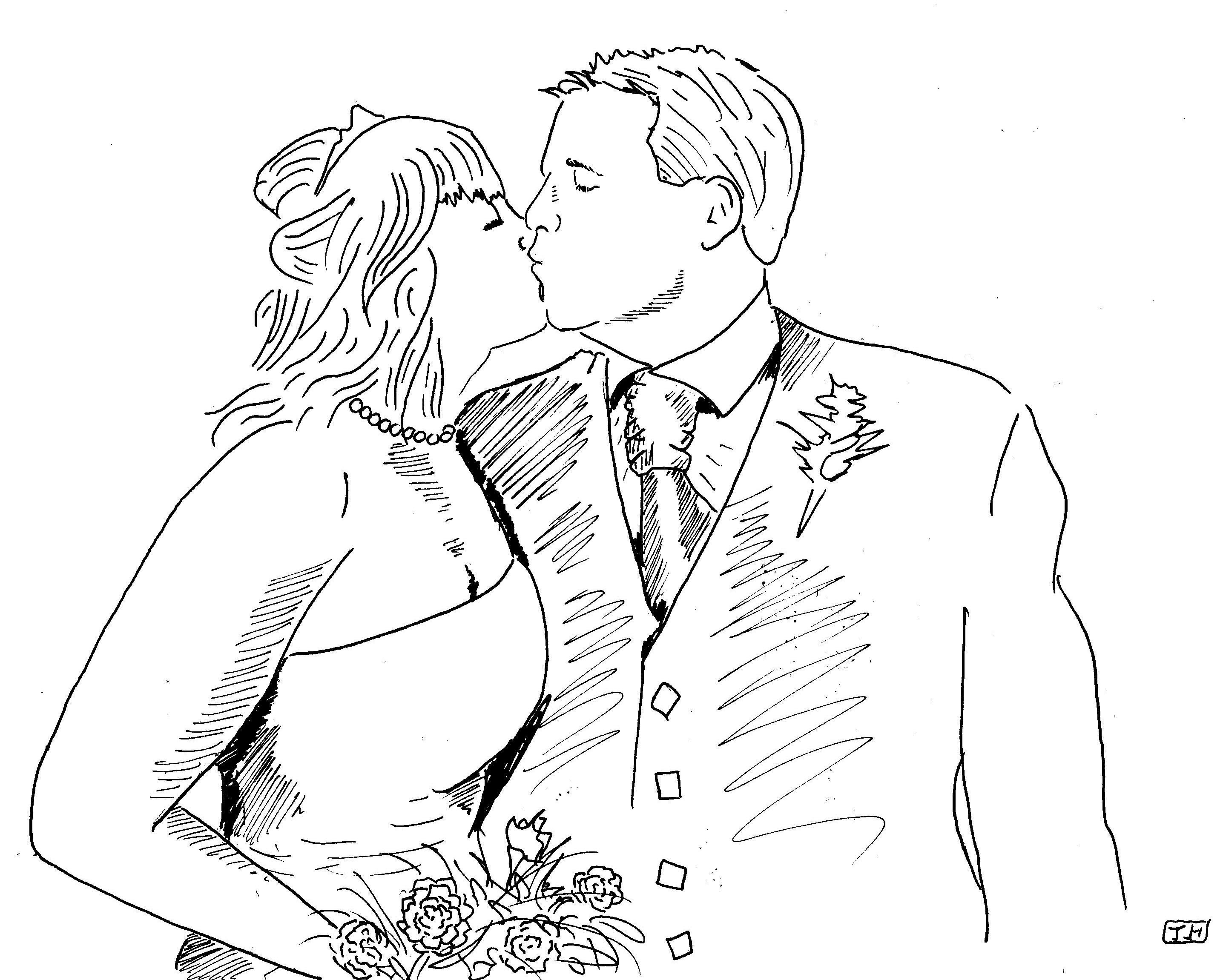 2872x2302 Married Couple Hallistrations