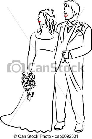 311x470 Collection Of Wedding Couple Drawing High Quality, Free