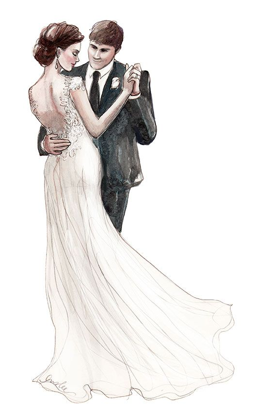 528x841 Wit Weddings Dance Inslee Print Fashionably Drawn