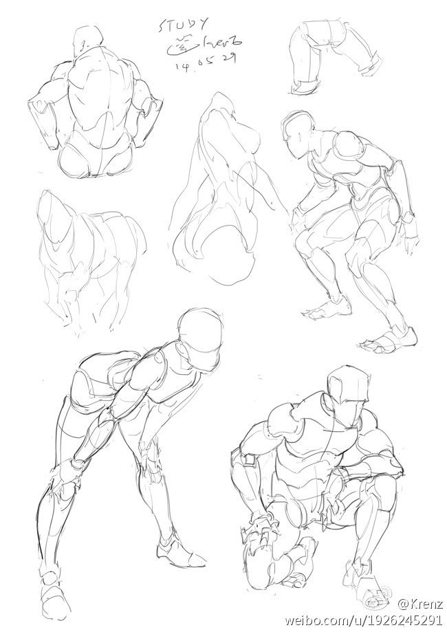 Mass Gesture Drawing