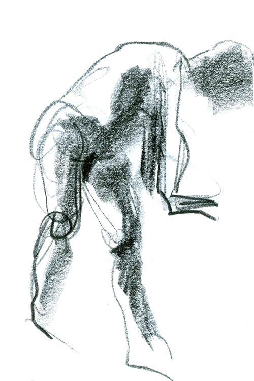 500x751 Collection Of Mass Gesture Drawing High Quality, Free