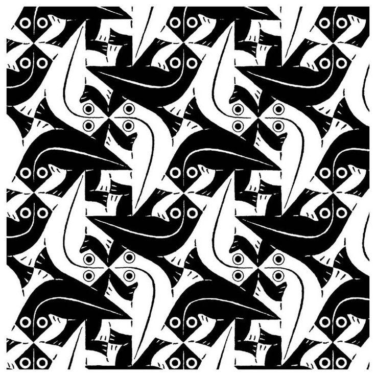 Drawing Optical Illusion Mc Escher Art