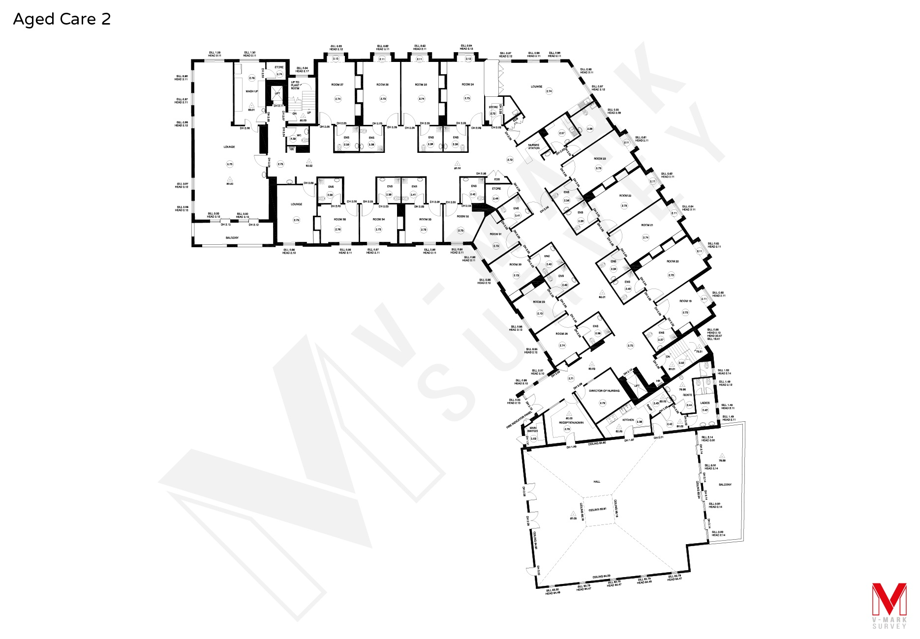 1870x1300 Residential Commercial Measured Floor Plans Specialist