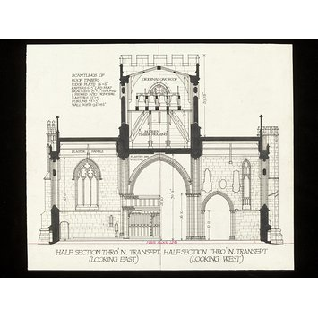 355x355 Measured Drawings Of The Church Of Ss. Mary, Katherine And All