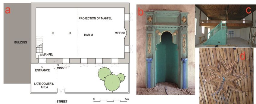 850x347 The Measured Drawing Of Yaylaalan Village Old Mosque (A
