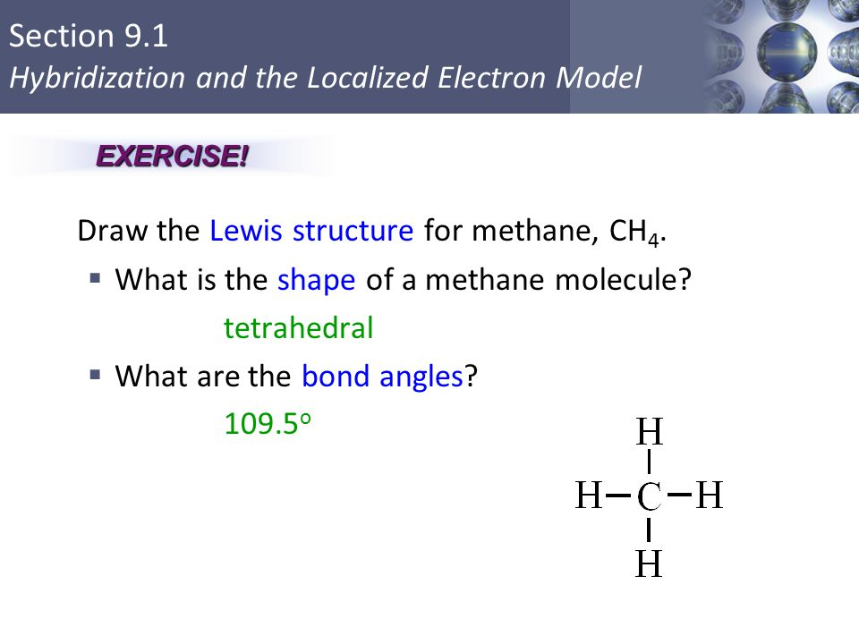 960x720 Draw The Lewis Structure For Methane, Ch4.