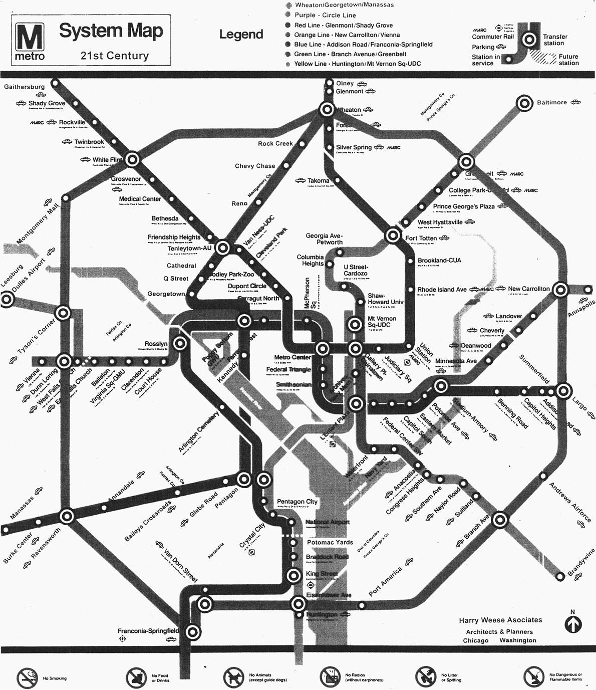 Metro Drawing