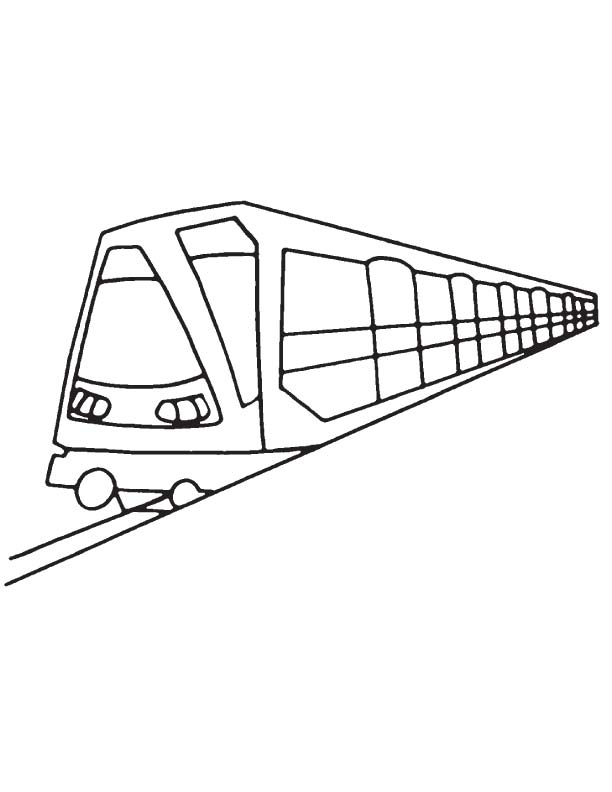 612x792 Tube Metro Coloring Page Download Free Tube Metro Coloring Page
