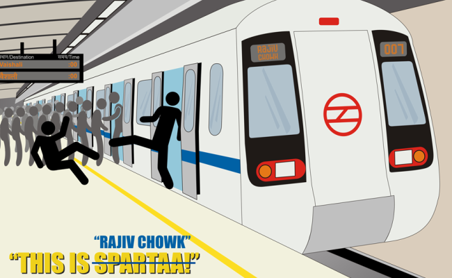 650x400 Someone Just Made These Awesome Posters Of The Delhi Metro'S
