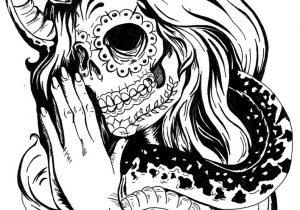 300x210 Girl Skull Tattoo Designs 40 Mexican Candy Skull Tattoos