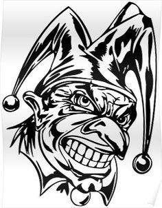 236x302 Mexican Gangster Joker Logo Maxican
