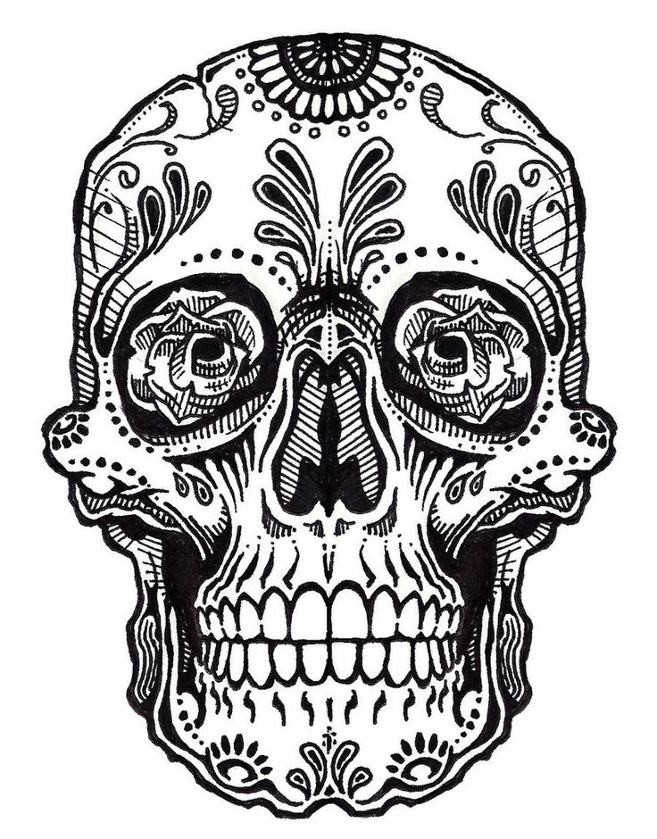 736x940 Collection Of Mexican Skeleton Drawing High Quality, Free