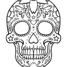 234x234 61 Best Skullzvariety Images On Sugar Skulls, Coloring