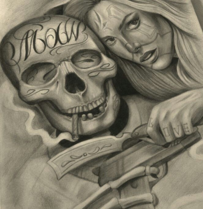 663x680 The 1523 Best Chicano Images On Tattoo Designs, Tattoo