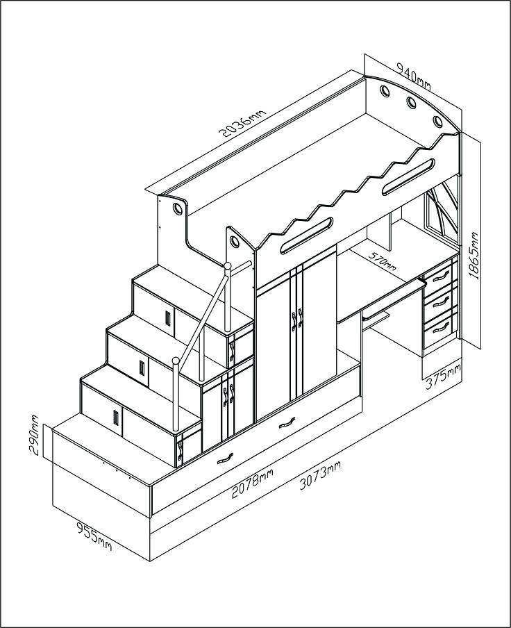 736x904 Montage Lit Ikea Plan Lit Mezzanine 2 Places Lit Mezzanine Ikea 2