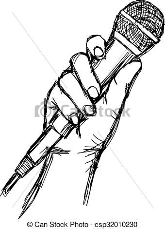 340x470 Image Result For Holding Microphone Drawing Other